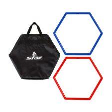 Star SA830C Hexagonal Plastic Agility Ring